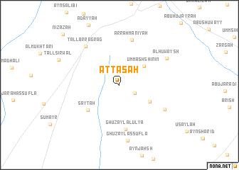 map of Aţ Ţāsah