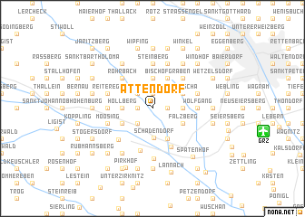 map of Attendorf