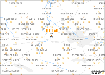 map of Atter