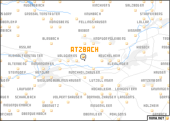 map of Atzbach