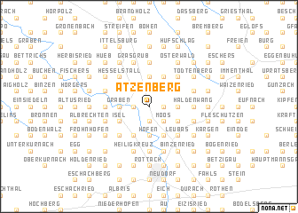 map of Atzenberg