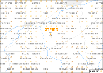 map of Atzing