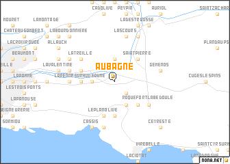 Aubagne (France) map   nona.net