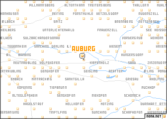 map of Auburg