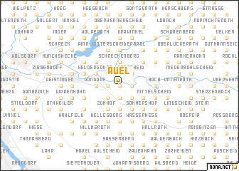 map of Auel