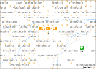 map of Auerbach