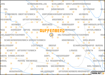 map of Auffenberg