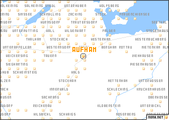 map of Aufham