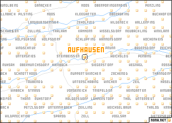 map of Aufhausen
