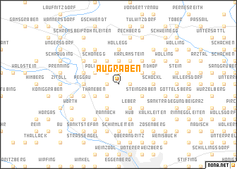 map of Augraben