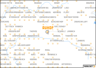 map of Auhof