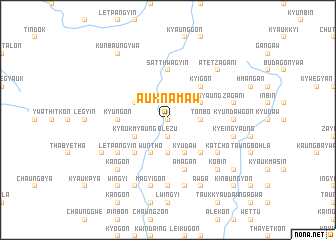 map of Auk Namaw
