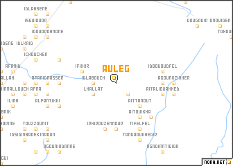 map of Auleg