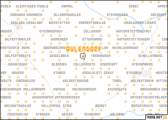map of Aulendorf