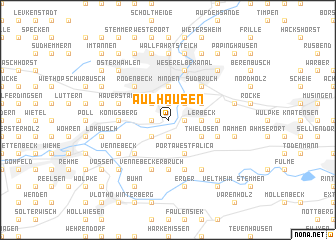map of Aulhausen