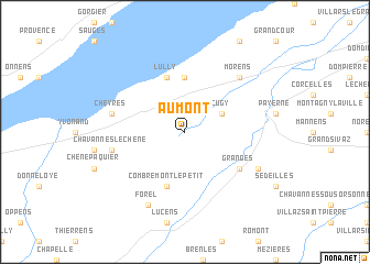 map of Aumont