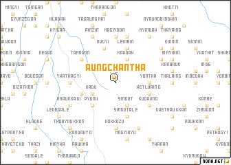 map of Aungchantha