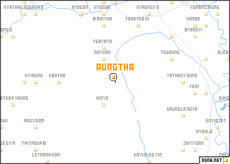map of Aungtha