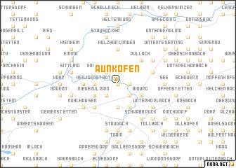 map of Aunkofen
