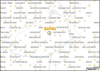 map of Aurau
