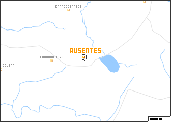 map of Ausentes