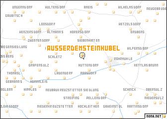 map of Außer dem Steinhübel