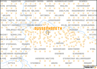 map of Außerhareth