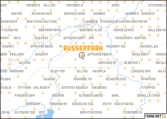 map of Ausserraah