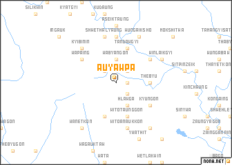 map of Auyawpa