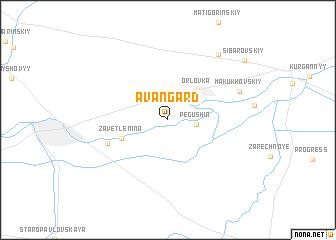 map of Avangard