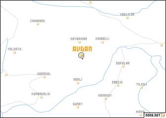 map of Avdan