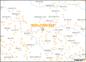 map of Avdijina Voda