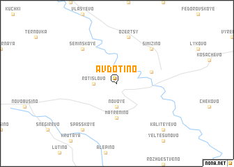 map of Avdot\