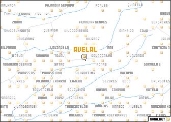 map of Avelal