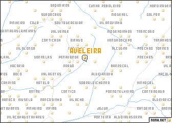 map of Aveleira