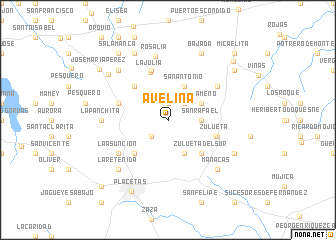 map of Avelina