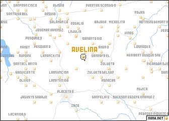 map of Avelina