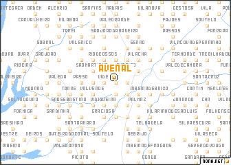 map of Avenal