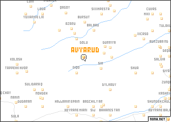 map of Avyarud