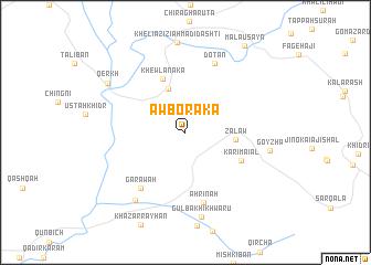 map of Āwbōraka