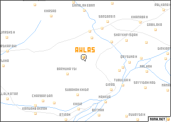 map of Awlas