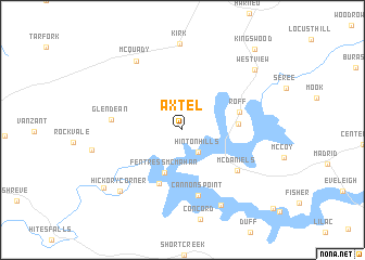 map of Axtel