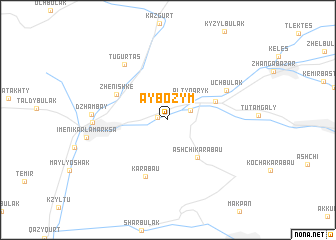 map of Aybozym