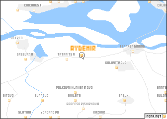 map of Aydemir