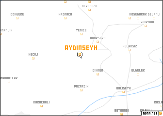 map of Aydınşeyh