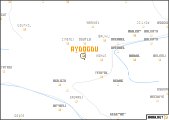 map of Aydoğdu