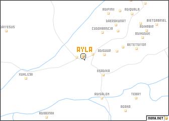 map of Āyla