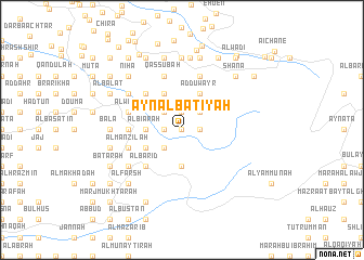map of 'Ayn al Bāţiyah