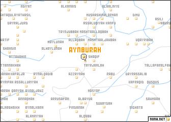 map of 'Ayn Būrah