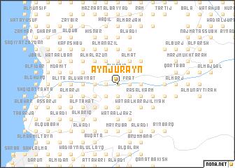 map of 'Ayn Jurayn